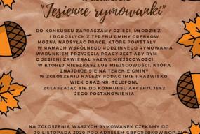 """""""Jesienne rymowanki"""" w GBP Grębków-25856"""