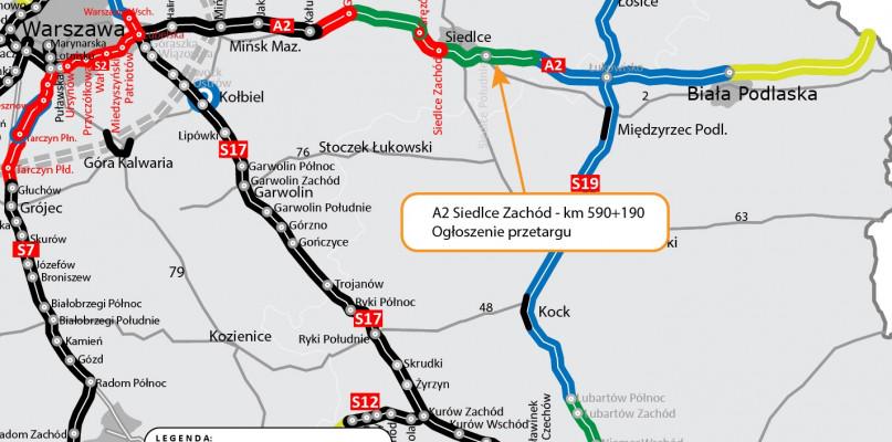 Rusza przetarg na A2 Siedlce-Biała Podlaska - 26017