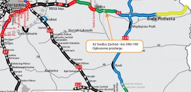 Rusza przetarg na A2 Siedlce-Biała Podlaska-26017