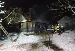 Tragiczny pożar w powiecie łukowskim-26886