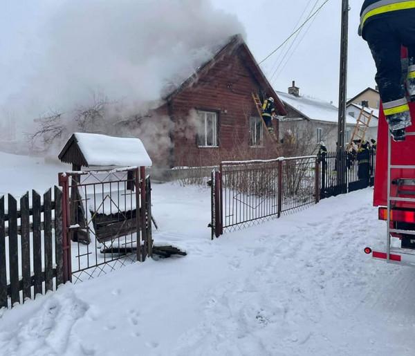Pracowity czas dla strażaków ze Zbuczyna-26912