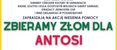 Złom na wagę życia Antosi. Wielka zbiórka w gminie Sarnaki-26917
