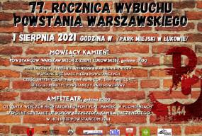 Łukowskie obchody 77 rocznicy wybuchu powstania warszawskiego-29548