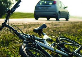 Wypadek z udziałem rowerzysty na krajowej dziewiętnastce-29623