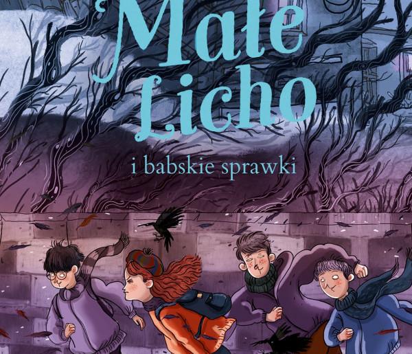 """Opis książki Marty Kisiel """"  Małe Licho i babskie sprawki"""", Wyd. WILGA-30950"""
