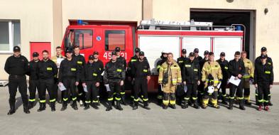 Szkolenie podstawowe strażaków z powiatu łosickiego-30958